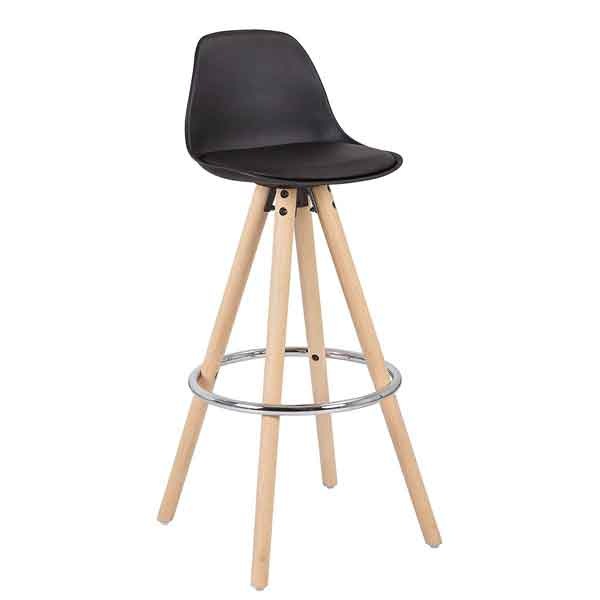 Tabouret de bar assise plastique